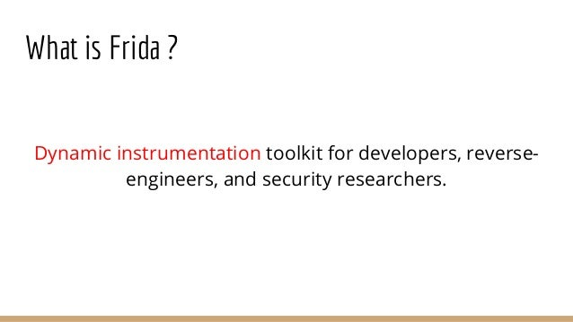 Pentesting Android Apps using Frida (Beginners)