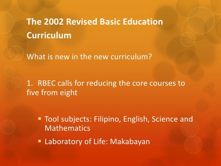 new elementary curriculum in the philippines Elementary schools can be designed in to gardens and other outdoor areas that can be utilized in the curriculum elementary school, boscawen, new.
