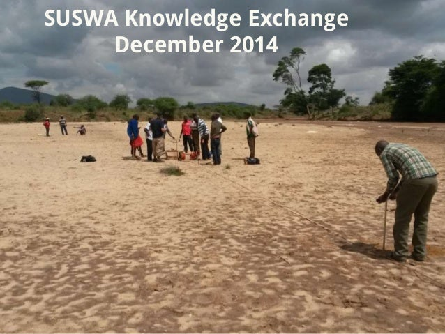 SUSWA Knowledge Exchange December 2014