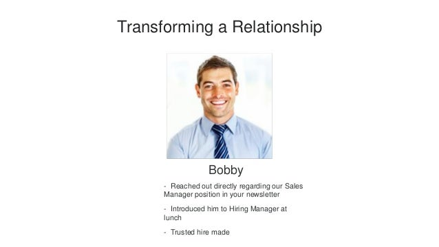 Relationships matter: How to build, nurture, and transform ...
