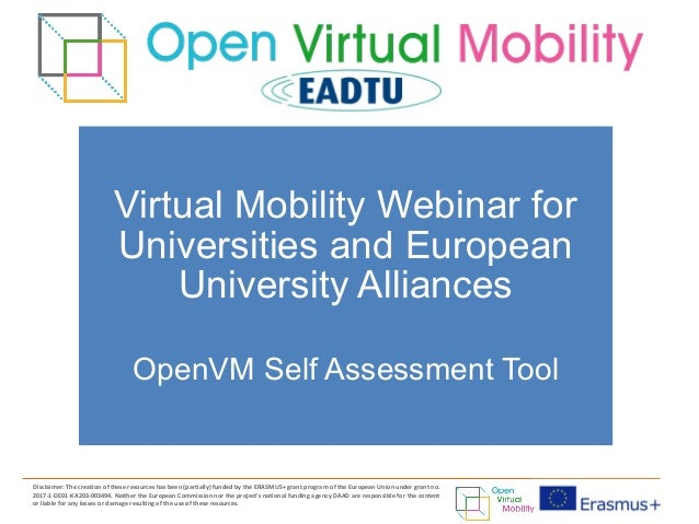 Disclaimer: The creation of these resources has been (partially) funded by the ERASMUS+ grant program of the European Unio...