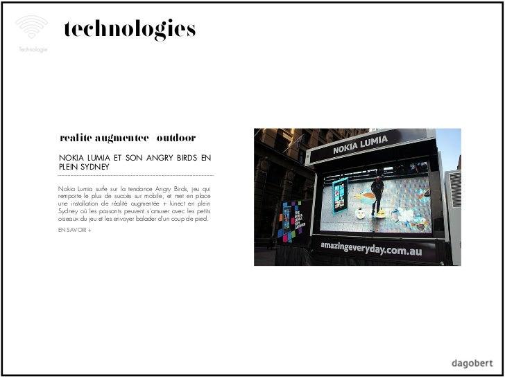 technologiesréalité augmentée + outdoorNOKIA LUMIA ET SON ANGRY BIRDS ENPLEIN SYDNEYNokia Lumia surfe sur la tendance Angr...