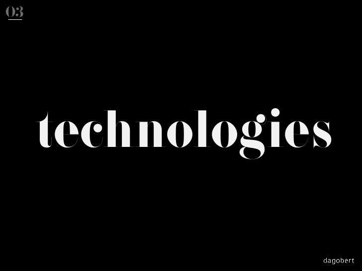 03     technologies