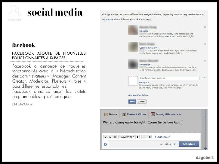 social mediafacebookFACEBOOK AJOUTE DE NOUVELLESFONCTIONNALITÉS AUX PAGESFacebook a annoncé de nouvellesfonctionnalités av...