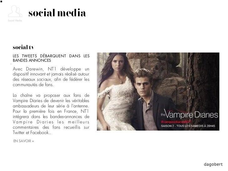 social mediasocial tvLES TWEETS DÉBARQUENT DANS LESBANDES ANNONCESAvec Darewin, NT1 développe undispositif innovant et jam...
