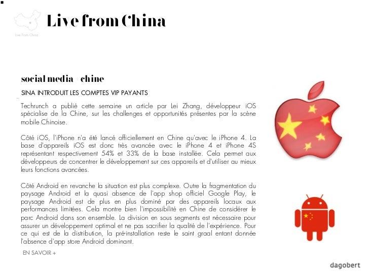Live from Chinasocial media + chineSINA INTRODUIT LES COMPTES VIP PAYANTSTechrunch a publié cette semaine un article par L...