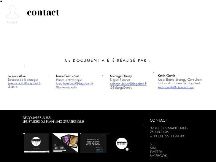 contact                                   CE DOCUMENT A ÉTÉ RÉALISÉ PAR :Jérémie Abric                Laure Frémicourt    ...