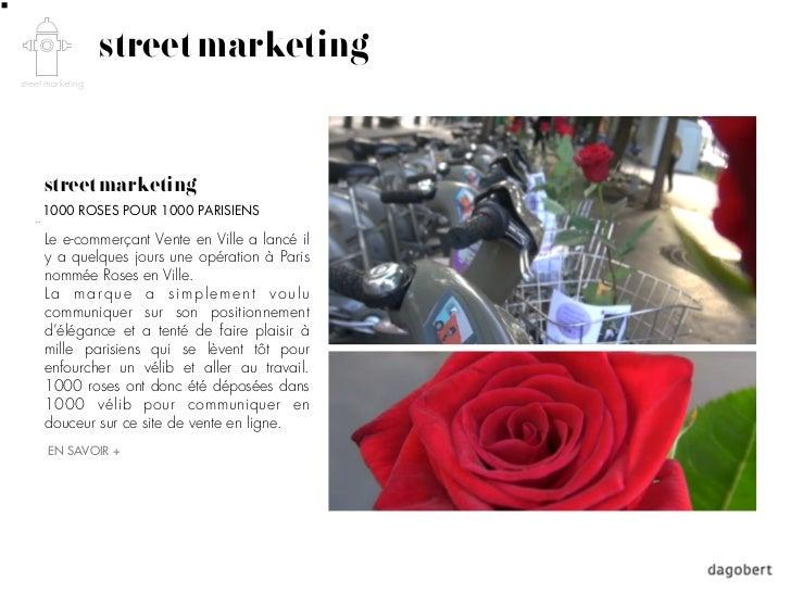 street marketingstreet marketing      street marketing     1000 ROSES POUR 1000 PARISIENS      Le e-commerçant Vente en Vi...