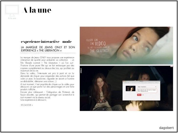 À la uneexpérience interactive + modeLA MARQUE DE JEANS ONLY ET SONEXPÉRIENCE «THE LIBERATION»La marque de Jeans ONLY no...