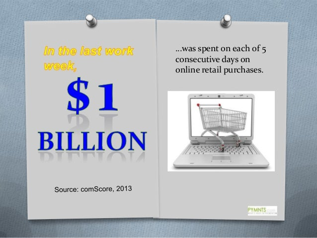 …was spent on each of 5 consecutive days on online retail purchases.