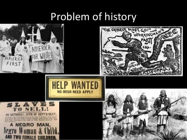 Problem of history
