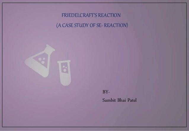 Friedel craft reaction
