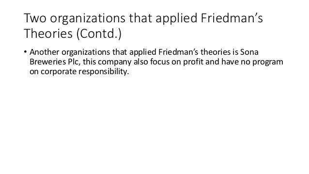 friedman vs carroll Responsibility of business: milton friedman, a nobel laureate in economics,  lesson 9 — do businesses have a social responsibility objectives the students will.
