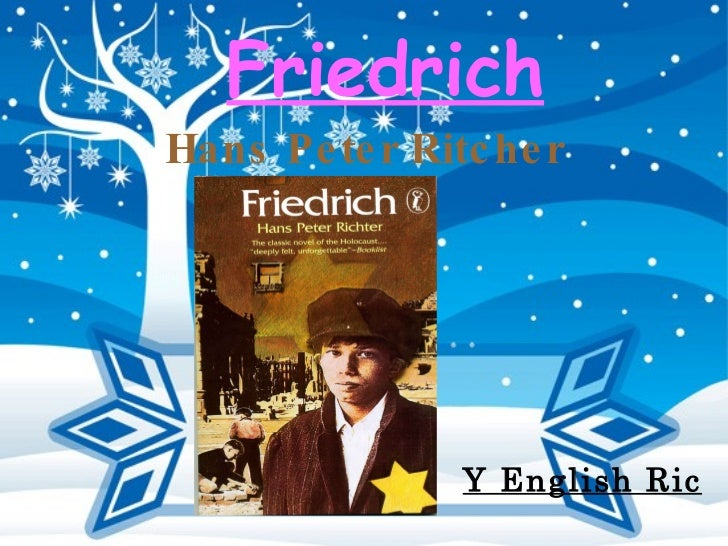 Friedrich Hans Peter Ritcher Y English Ric