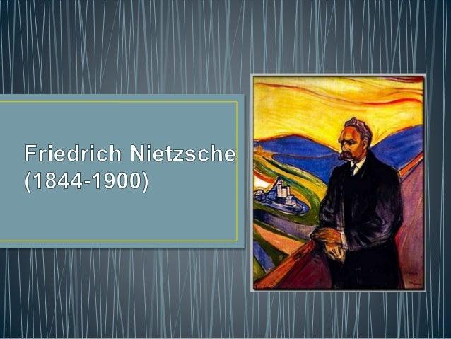 • Il est né à Röcken et il a étudié philologie classique. • Avec le travaille de professeur à l'Université de Basilea,il c...