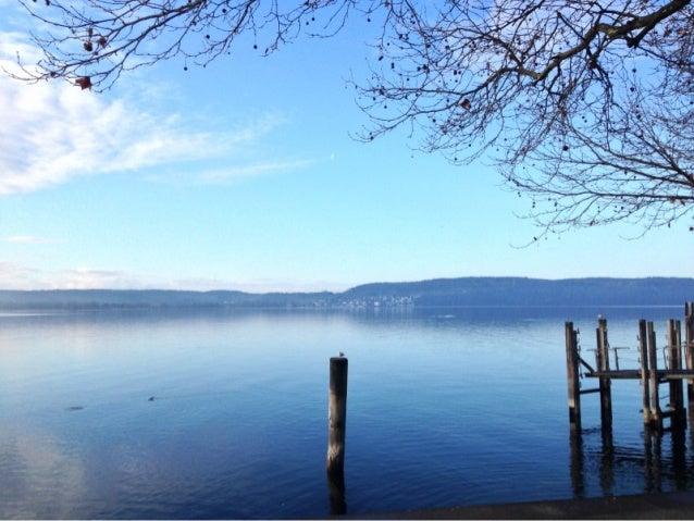 Stiller Morgen am Bodensee