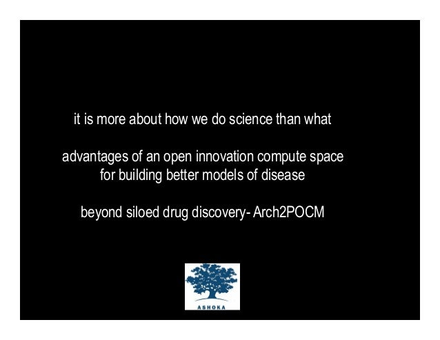 it is more about how we do science than whatadvantages of an open innovation compute space      for building better models...