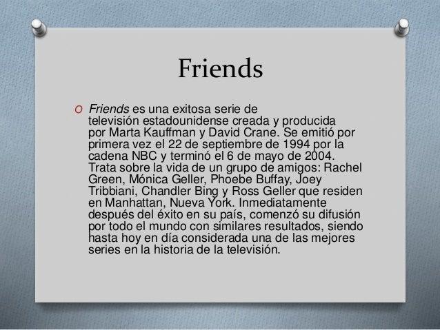 Friends Slide 2