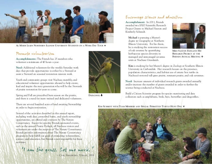 Friends of Nachusa Grasslands 2010-2011 Annual Report