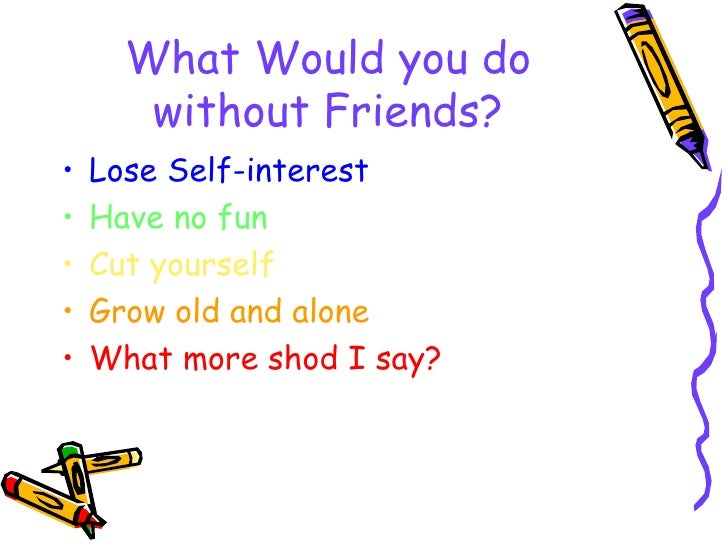 Friends info Slide 2
