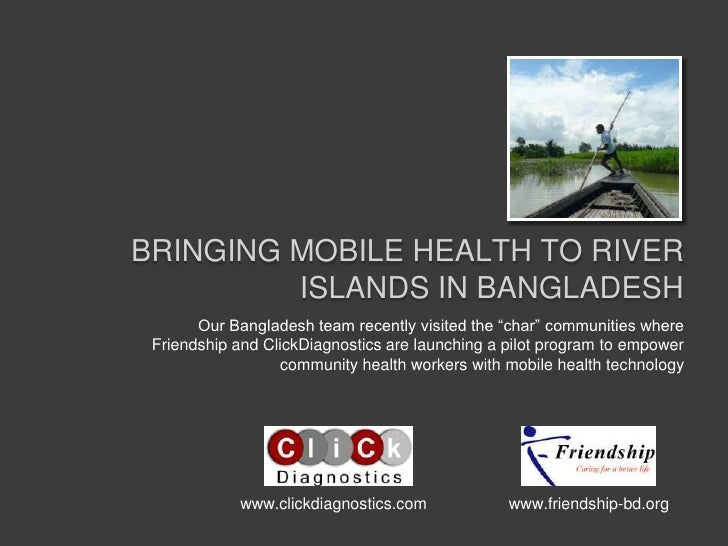 """Bringing Mobile health to river islands in Bangladesh<br />Our Bangladesh team recently visited the """"char"""" communities whe..."""