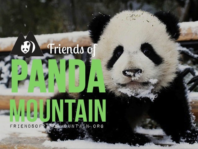 pandaFriends ofMountainFriendsofPandaMountain.org