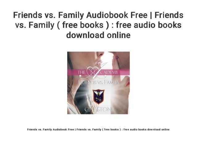 family vs friends