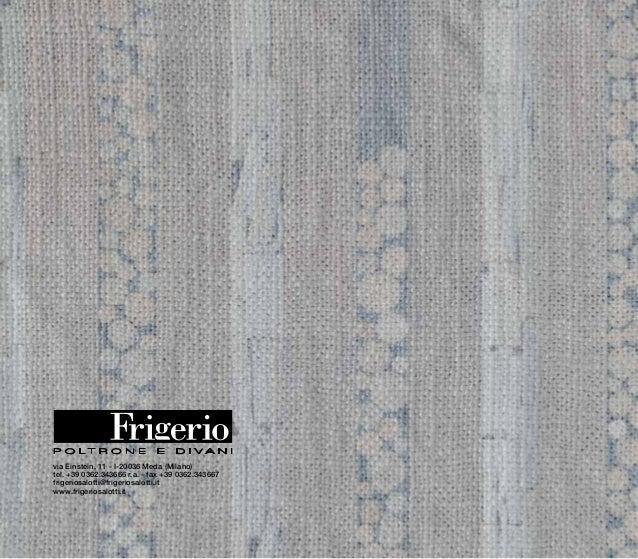 Frigerio Poltrone E Divani Meda.Frigerio Home Catalogue