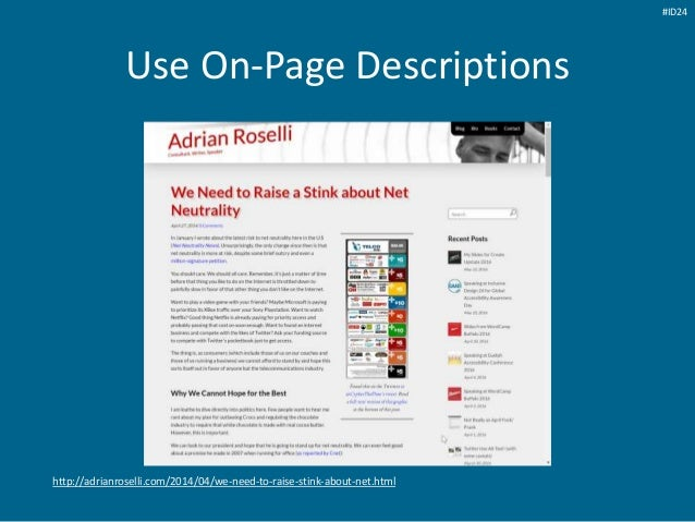 Use On-Page Descriptions http://adrianroselli.com/2014/04/we-need-to-raise-stink-about-net.html #ID24