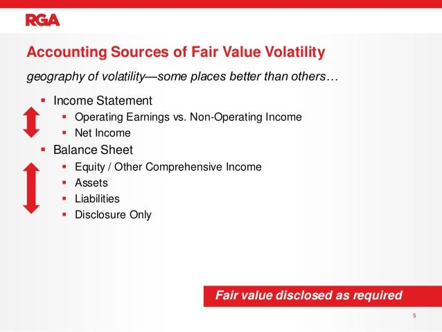 fair value accounting 5 essay A brief discussion of the current views on fair value accounting is followed by  5  reported changes in fv estimates for financial assets and liabilities are to be   in this essay, i wanted to bring us back to reality—the term ―fair‖ must be.