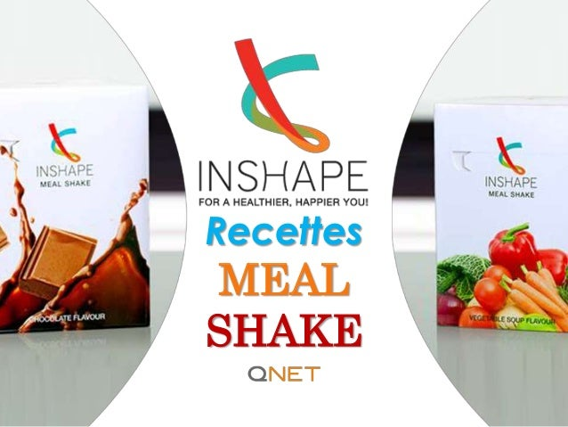 Recettes MEAL SHAKE