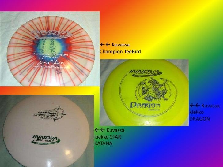 Frisbeegolf Slide 3