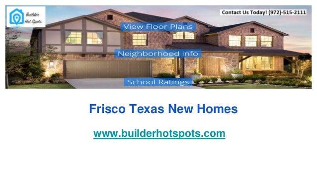 Frisco Texas New Homes