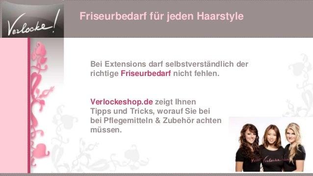 Friseurbedarf für jeden Haarstyle Bei Extensions darf selbstverständlich der richtige Friseurbedarf nicht fehlen. Verlocke...