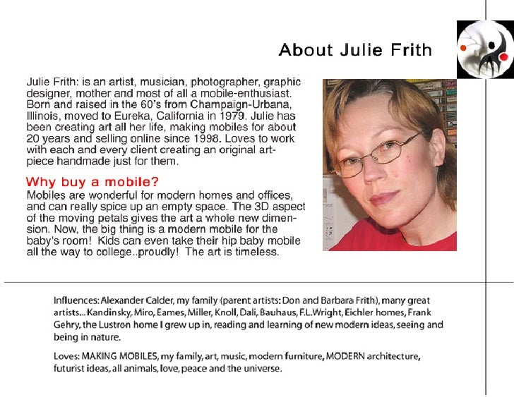 Mobiles by Julie Frith Slide 3