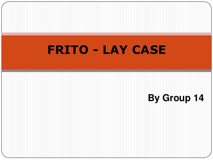 marketing mix of frito lay Planning, implementing, and controlling marketing marketing strategy marketing mix elements frito-lay north america.