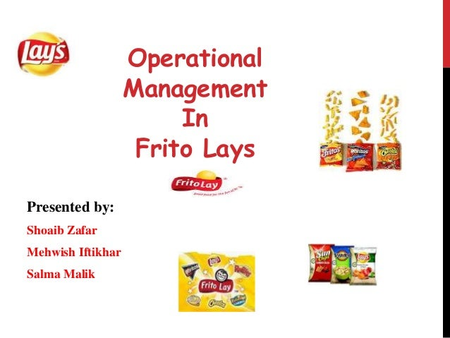 frito lay case study Study guides tough gcse topics frito-lay's objective is to maintain 1027% of profit contribution in dip market then there are some dips that are prepared, but need refrigeration and are sold in the diary case the frito-lay sour cream based dip is not currently promoted as a vegetable.