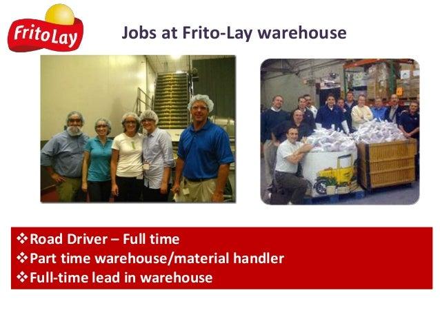 Frito Lay warehouse jobs