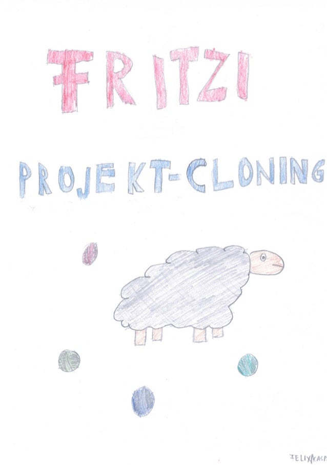Fritzi pojektclonig #SciChallenge2017