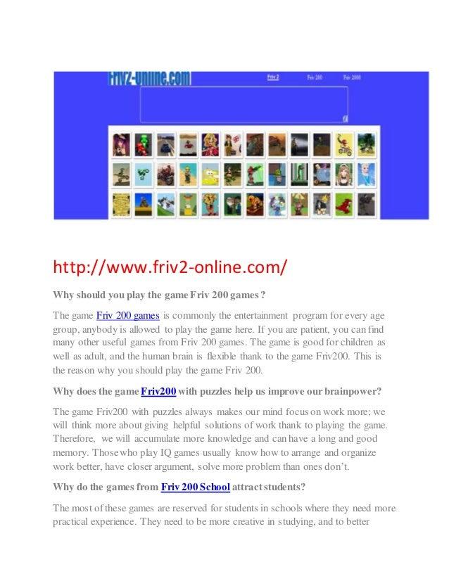 friv games online play school