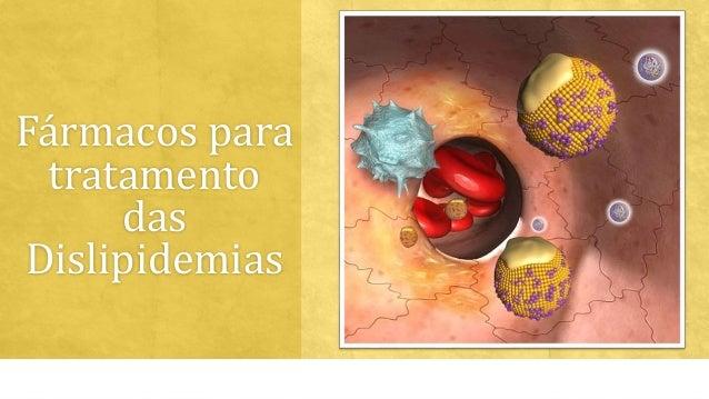Fármacos para  tratamento  das  Dislipidemias