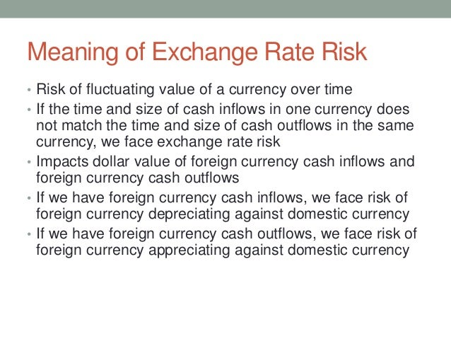 currency risk management If you are a cfo or part of your company's treasury department, you know that managing commodity and foreign exchange (forex or fx) risk is critical to.