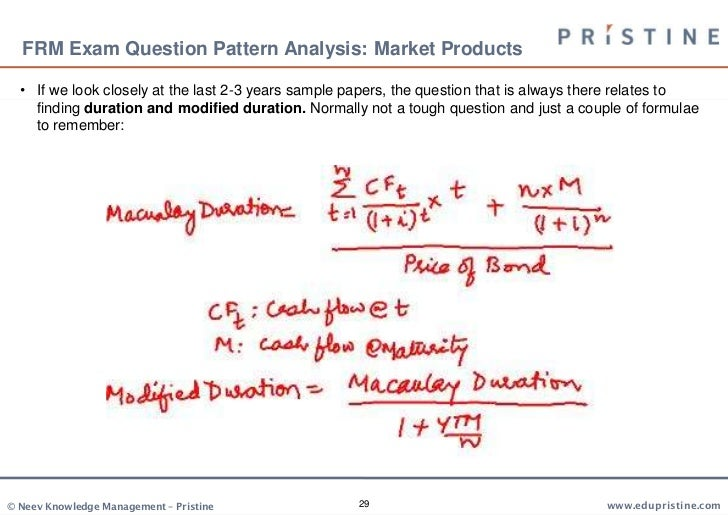 Credit Risk FRM Part II