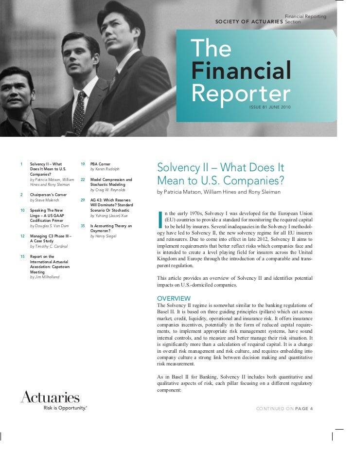 Financial Reporting                                                                                                   S O ...