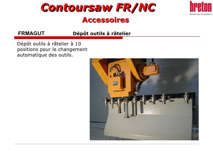 FRMAGUT    Dépôt outils à râtelier   Dépôt outils à râtelier à 10 positions pour le changement automatique des outils.   A...