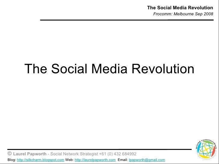 The Social Media Revolution                                                                                       Frocomm:...