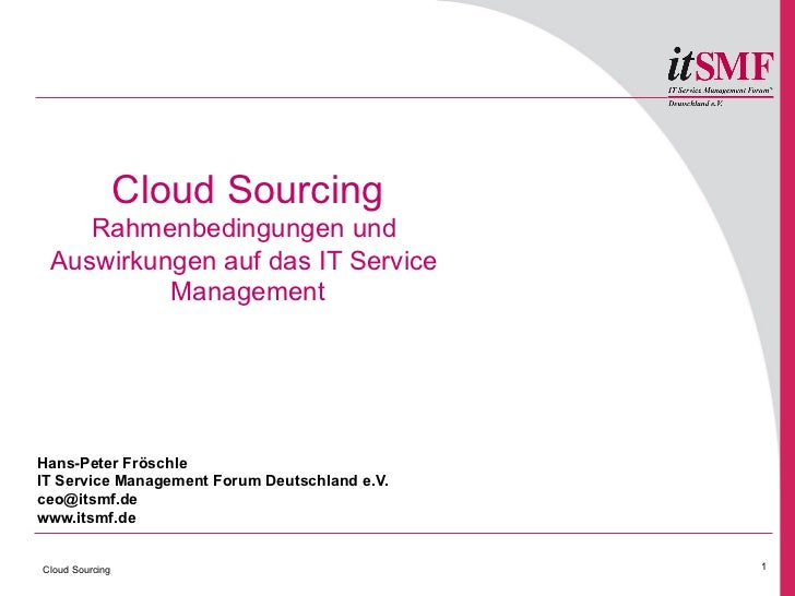 WS: Froeschle - Cloud Sourcing_rahmenbedingungen