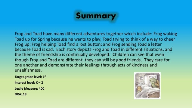summary of the frog and the Summary and analysis of vikram seth's the frog and the nightingale vikram  seth's the frog and the nightingale is a poem in the form of a.