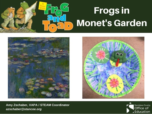 Read Frog and Toad Are Friends This lesson focuses on the Spring and A Swim chapters.