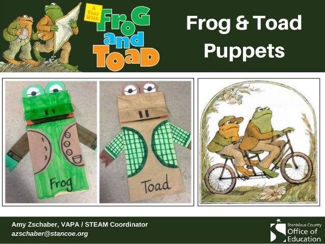Read Frog and Toad Are Friends This lesson uses compare / contrast and reader's theater strategies. Any story from the boo...